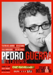 Pedro Guerra en la Lavapies