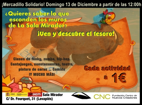 Organizado por los alumnos de la Escuela Cristina Rota
